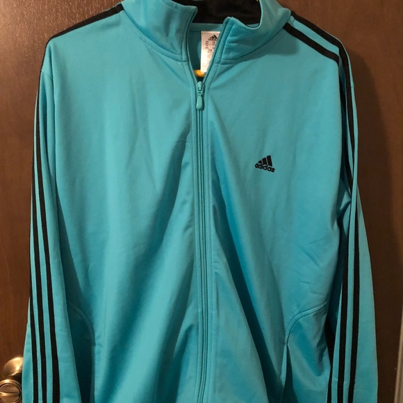 cdb0ebceeb23 adidas Other - Adidas light weight coat jacket Tiffany blue